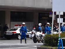 2015年4月京都駅前封鎖の様子