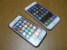 iPhone5s(SoftBank)→iPhone6(docomo)