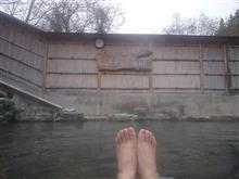 雪が降る前に谷川温泉に浸かってきました♪