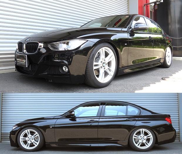 BMW3シリーズ 320i Mスポーツ 車高調 『 Best☆i 』 開発完了です