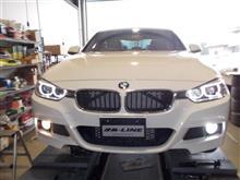 BMW F30 フォグランプLED化