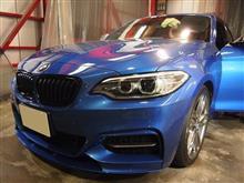 BMW2シリーズにCermaicPro9H+ホイールコート+窓ガラスコート全面+デット二ングスペシャルプランを施工させて頂きました。