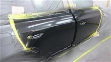 東京都 東村山市よりご来店 BMW X3 の板金・塗装・修理です。