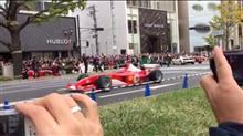 またまた大阪でF1が走った