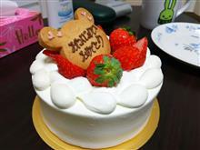 誕生日おめでとう(^_^)