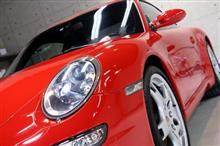 伝統的スタイルを持ち続ける ポルシェ・911カレラSのガラスコーティング【リボルト佐賀】