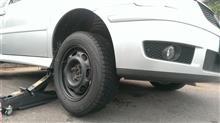 タイヤ交換~POLO~