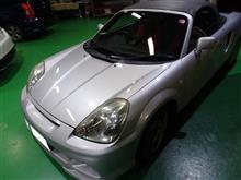 【施工例】TOYOTA(トヨタ) / MR-S に「SonicDesign SonicPLUS」 SP-861 ※無加工取付