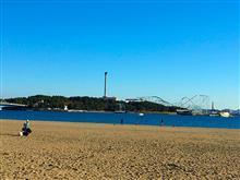 横浜海の公園 犬の遊び場