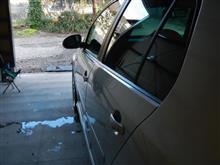 洗車してサッパリ ・・・o(▼_▼θ