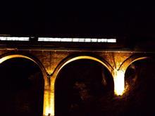 めがね橋ライトアップの動画