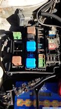 ラジエータファンとエアコンコンプレッサーのリレーを替えてみた