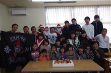 孤児院にクリスマスプレゼント