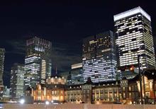 忘年会 in Tokyo Station Night