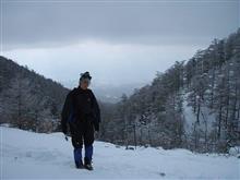 '05/12/11 長野県小諸市 黒斑山。