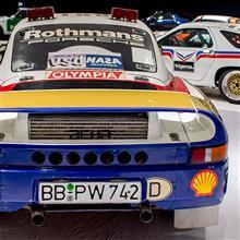 【写真】ポルシェ博物館 part.6, Porsche 959 Paris-Dakar
