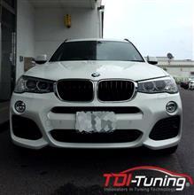 【BMW X3 ディーゼルサブコンTDI Tuning TWIN CHANNEL】インプレ頂きました!