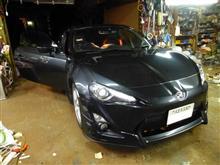 トヨタ86カーオーディオ音質改善/天井&ドア・デッドニング篇 CS.ARROWS