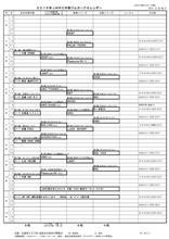 2016年JMRC中部ジムカーナイベントカレンダー