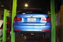 BMW F31 320d エンジンオイル交換&1wayバルブ!