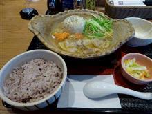 まるごと玉ねぎのスープ鍋定食(大戸屋)