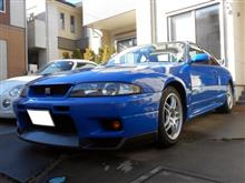 今年最後の洗車&ブリスです!