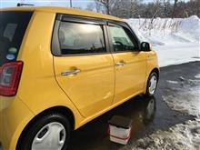 洗車記録 Nワン12月