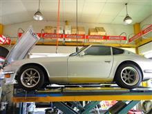 エンジンルームがステキ! S30 フェアレディZ