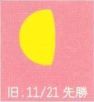 月暦 12月31日(木)