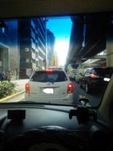 渋滞(;´Д`)