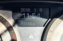 祝!7万キロ
