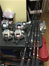 釣り道具、年末の整理掃除で出てきました(;'∀')