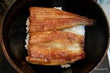 鰻の白焼きから蒲焼 → 激ウマ♪