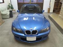 BMW Z3 ロードスター、採寸&装着確認(完成)