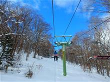 二回目のスキー