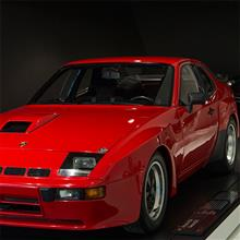 "【写真】ポルシェ博物館 part.16, Porsche 924 Carrera GTS, 944 Turbo ""Around the world"""