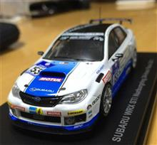 2011ニュル24時間レースのクラス優勝を飾ったWRXSTIミニカー