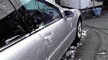 誕生日 前日洗車!