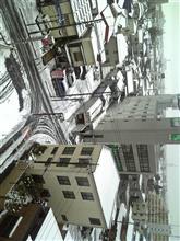 関東でも雪が降ってきましたよ