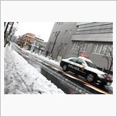雪の新宿ようす
