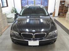 BMW 7シリーズ(4代目)E65 後期型、採寸&装着確認(完成)
