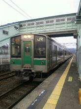 久々の電車