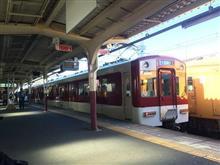 電車で初詣