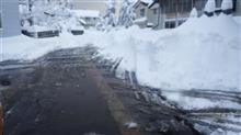 早朝から除雪