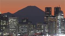 夜景練習・文京シビックセンター