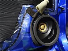 【再】問い合せの多い施工例【クリアなサウンド&音漏れ解消】 SonicPLUS SUBARU トップグレードモデル SFR-S01F  【スバル WRX S4 / STI】専用スピーカーパッケージ