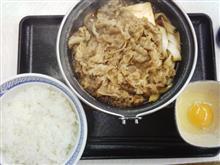 今冬三度目の、ぎうすき鍋膳。
