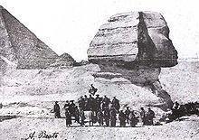 1864、遣欧使節 in エジプト ~ ♪