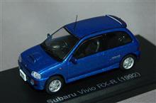 1/43スケール、スバル ヴィヴィオRX-R
