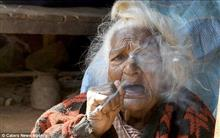 112歳の世界高齢婆さんの風貌があまりにもSF過ぎると話題に